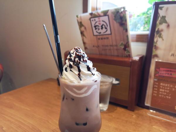 甘味処万丸Cafeのウィンナーココア