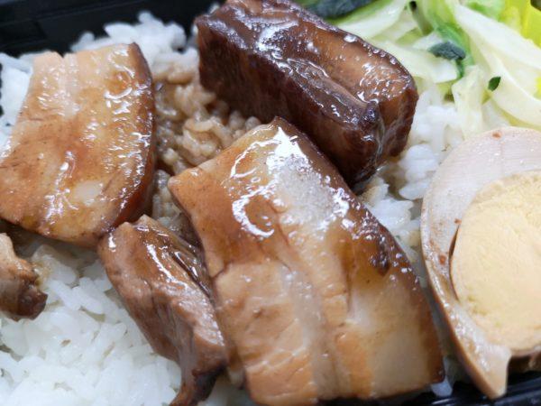 臺瓏(タイロン) の東坡肉(トンポーロー)弁当