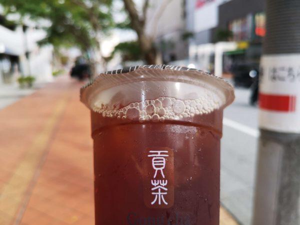 貢茶/Gong cha(ゴンチャ)のブラックティー