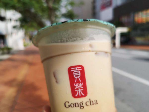 貢茶/Gong cha(ゴンチャ)の黒糖ミルクブラックティー