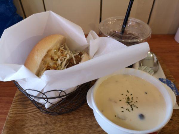 スープオンのクラムチャウダーセット