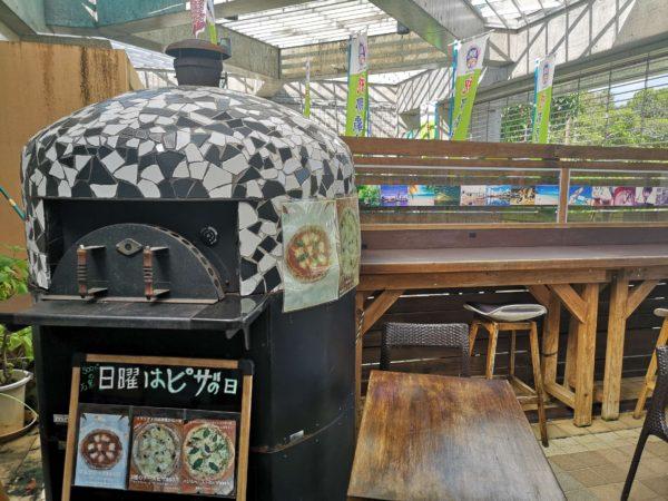 ひがし食堂 Jr.のピザ窯