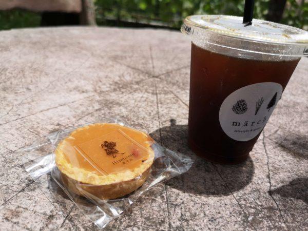 märchのコーヒーとお菓子1